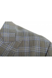 """Hugo Boss Men's """"Ilan/Farlys192F1"""" 100% Wool Plaid Double Breasted Suit: Picture 7"""