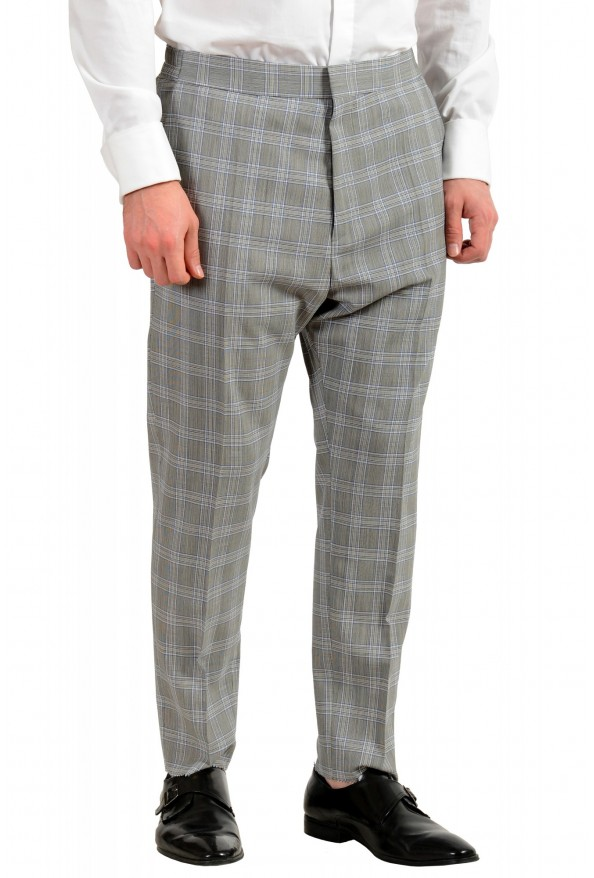 """Hugo Boss Men's """"Ilan/Farlys192F1"""" 100% Wool Plaid Double Breasted Suit: Picture 9"""