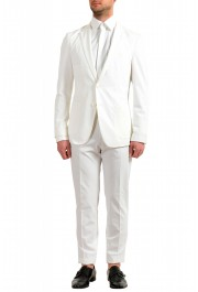 "Hugo Boss Men's ""Nolin/Pirko2"" Slim Fit White Two Button Suit"