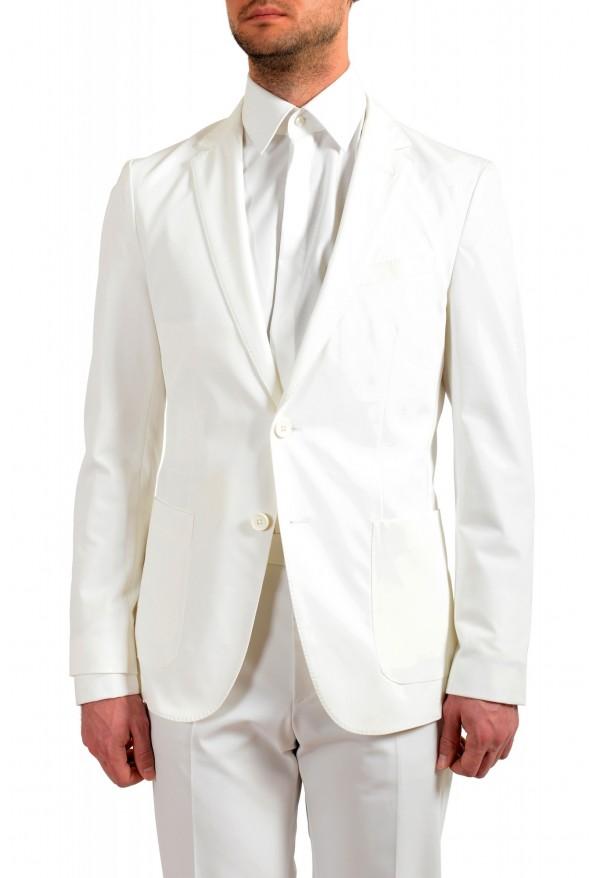 "Hugo Boss Men's ""Nolin/Pirko2"" Slim Fit White Two Button Suit: Picture 4"