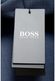 "Hugo Boss Men's ""Huge6/Genius5"" Slim Fit 100% Wool Blue Two Button Suit: Picture 11"
