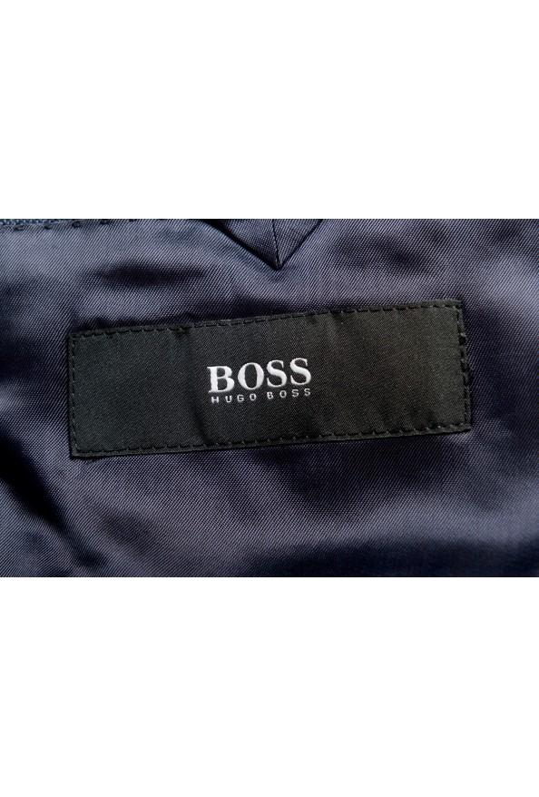 "Hugo Boss Men's ""Huge6/Genius5"" Slim Fit 100% Wool Blue Two Button Suit: Picture 12"