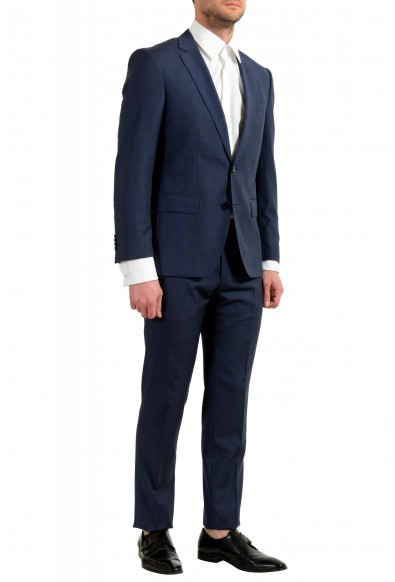 "Hugo Boss Men's ""Huge6/Genius5"" Slim Fit 100% Wool Blue Two Button Suit: Picture 2"