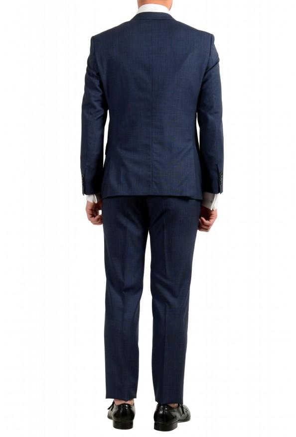 "Hugo Boss Men's ""Huge6/Genius5"" Slim Fit 100% Wool Blue Two Button Suit: Picture 3"