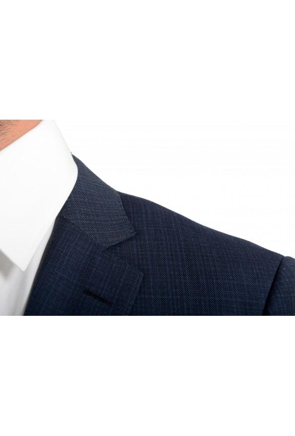 "Hugo Boss Men's ""Huge6/Genius5"" Slim Fit 100% Wool Blue Two Button Suit: Picture 7"