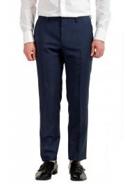 "Hugo Boss Men's ""Huge6/Genius5"" Slim Fit 100% Wool Blue Two Button Suit: Picture 8"