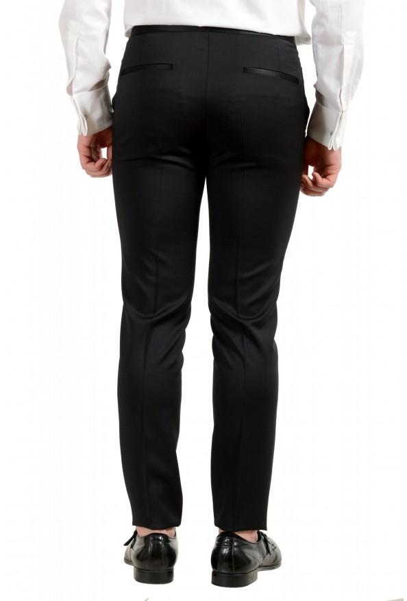 Hugo Boss Men's Arti/Gesten184E1 Extra Slim Fit 100% Wool Black One Button Suit: Picture 11