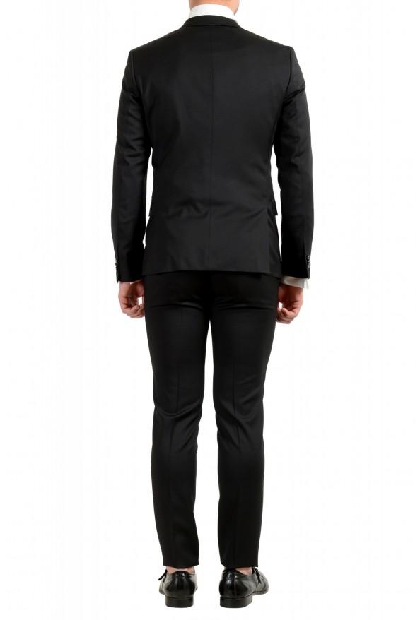 Hugo Boss Men's Arti/Gesten184E1 Extra Slim Fit 100% Wool Black One Button Suit: Picture 4