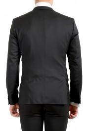 Hugo Boss Men's Arti/Gesten184E1 Extra Slim Fit 100% Wool Black One Button Suit: Picture 7