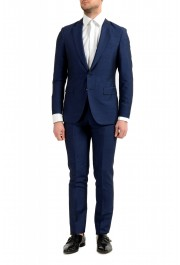 "Hugo Boss Men's ""F-Harverson2/Garvin2"" Slim Fit Silk Wool Mohair Two Button Suit"
