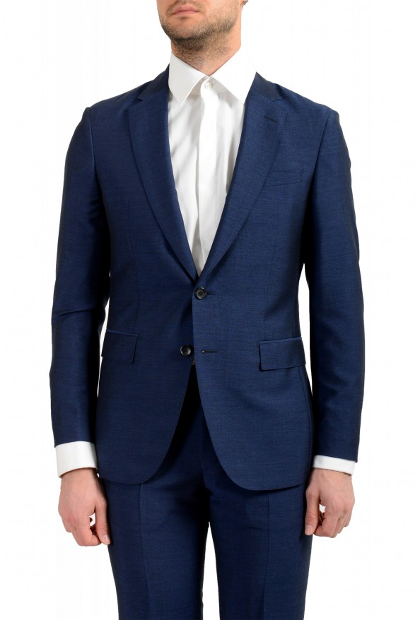 """Hugo Boss Men's """"F-Harverson2/Garvin2"""" Slim Fit Silk Wool Mohair Two Button Suit: Picture 4"""