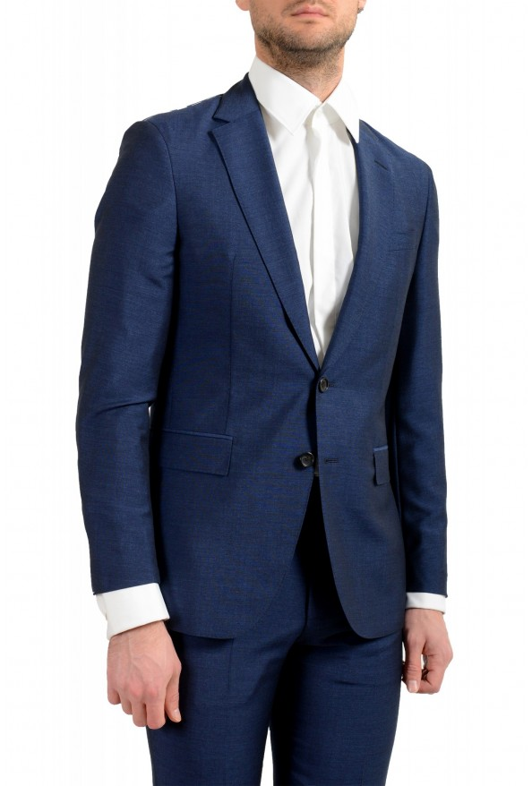 """Hugo Boss Men's """"F-Harverson2/Garvin2"""" Slim Fit Silk Wool Mohair Two Button Suit: Picture 5"""