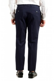 """Hugo Boss Men's """"Helford/Gender3"""" Slim Fit Blue Striped Wool Two Button Suit: Picture 10"""