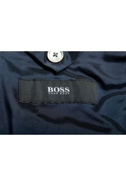 """Hugo Boss Men's """"Helford/Gender3"""" Slim Fit Blue Striped Wool Two Button Suit: Picture 12"""
