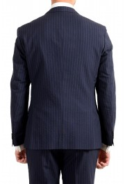 """Hugo Boss Men's """"Helford/Gender3"""" Slim Fit Blue Striped Wool Two Button Suit: Picture 6"""
