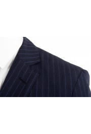 """Hugo Boss Men's """"Helford/Gender3"""" Slim Fit Blue Striped Wool Two Button Suit: Picture 7"""