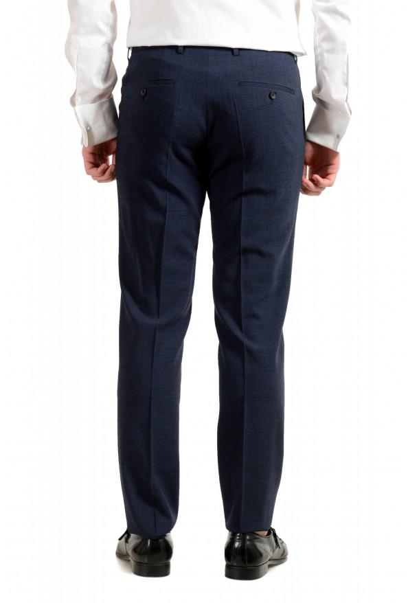 """Hugo Boss Men's """"Nalton1/Ben2"""" Slim Fit Blue Wool Plaid Two Button Suit: Picture 10"""