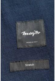 """Hugo Boss Men's """"Nalton1/Ben2"""" Slim Fit Blue Wool Plaid Two Button Suit: Picture 13"""