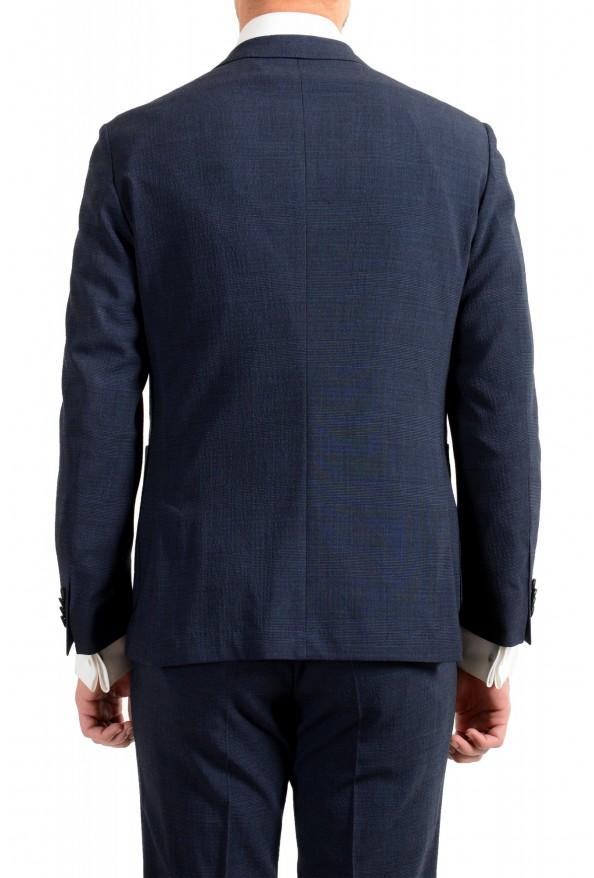 """Hugo Boss Men's """"Nalton1/Ben2"""" Slim Fit Blue Wool Plaid Two Button Suit: Picture 6"""