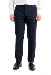 """Hugo Boss Men's """"Nalton1/Ben2"""" Slim Fit Blue Wool Plaid Two Button Suit: Picture 8"""