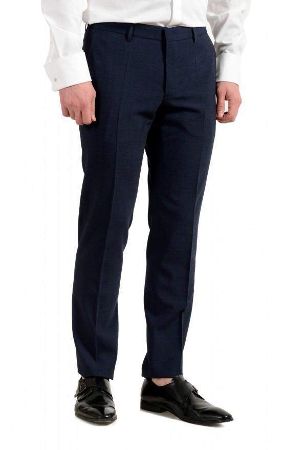 """Hugo Boss Men's """"Nalton1/Ben2"""" Slim Fit Blue Wool Plaid Two Button Suit: Picture 9"""