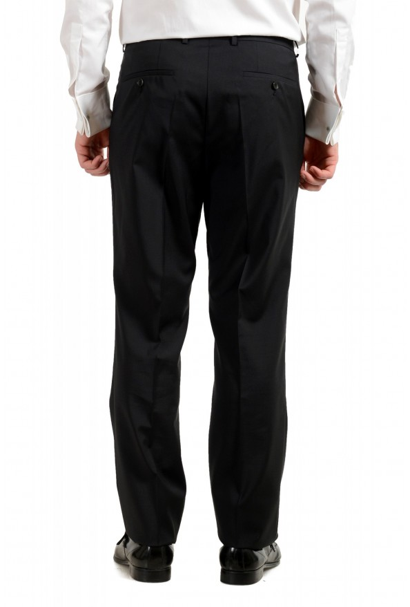 "Hugo Boss Men's ""Phoenix/Madisen"" Comfort Fit 100% Wool Black Two Button Suit: Picture 10"