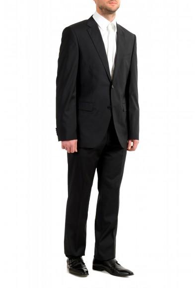 "Hugo Boss Men's ""Phoenix/Madisen"" Comfort Fit 100% Wool Black Two Button Suit: Picture 2"