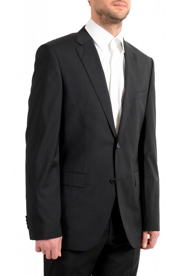 "Hugo Boss Men's ""Phoenix/Madisen"" Comfort Fit 100% Wool Black Two Button Suit: Picture 5"
