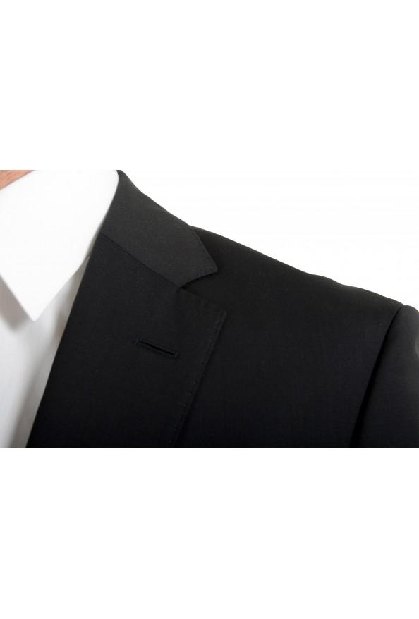 "Hugo Boss Men's ""Phoenix/Madisen"" Comfort Fit 100% Wool Black Two Button Suit: Picture 7"