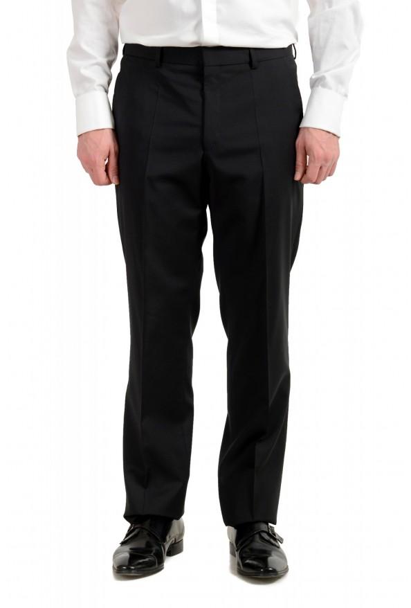 "Hugo Boss Men's ""Phoenix/Madisen"" Comfort Fit 100% Wool Black Two Button Suit: Picture 8"