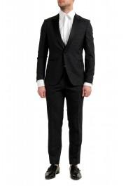 """Hugo Boss Men's """"Rendal1/Wilden1WE"""" Extra Slim Fit Wool Three Piece Tuxedo Suit"""