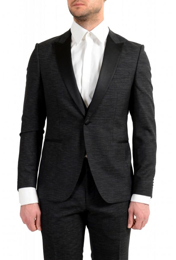 """Hugo Boss Men's """"Rendal1/Wilden1WE"""" Extra Slim Fit Wool Three Piece Tuxedo Suit: Picture 4"""