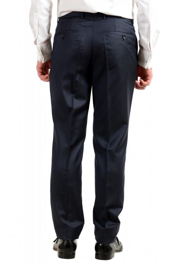 "Hugo Boss Men's ""T-Henders-Gorden"" Dark Blue Silk Wool Two Button Suit: Picture 10"