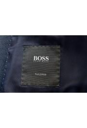 "Hugo Boss Men's ""T-Henders-Gorden"" Dark Blue Silk Wool Two Button Suit: Picture 12"