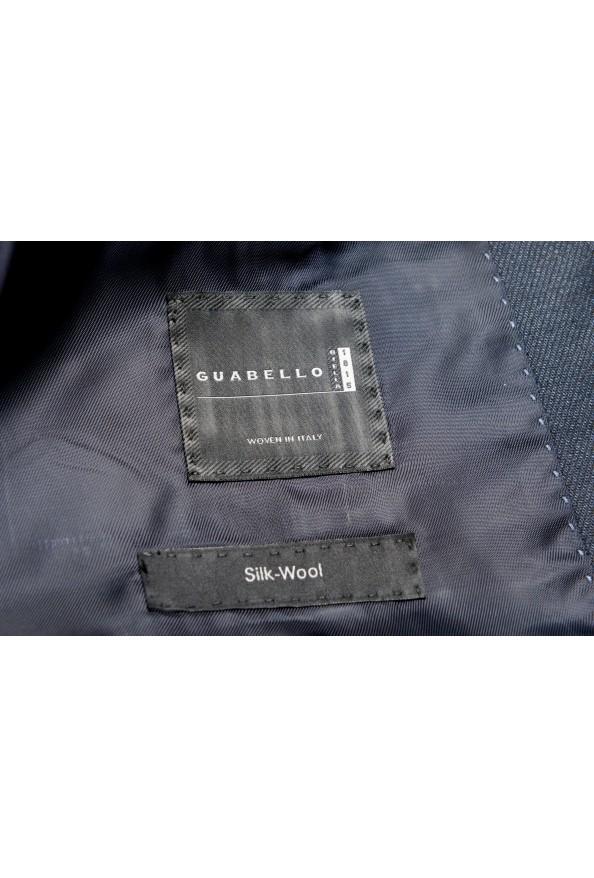 "Hugo Boss Men's ""T-Henders-Gorden"" Dark Blue Silk Wool Two Button Suit: Picture 13"