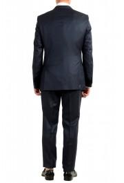 "Hugo Boss Men's ""T-Henders-Gorden"" Dark Blue Silk Wool Two Button Suit: Picture 3"