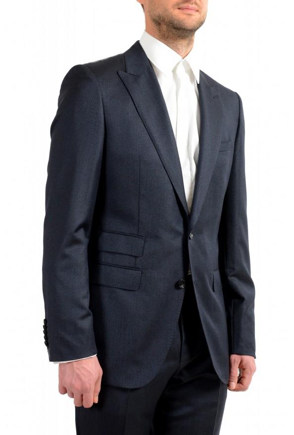 "Hugo Boss Men's ""T-Henders-Gorden"" Dark Blue Silk Wool Two Button Suit: Picture 5"