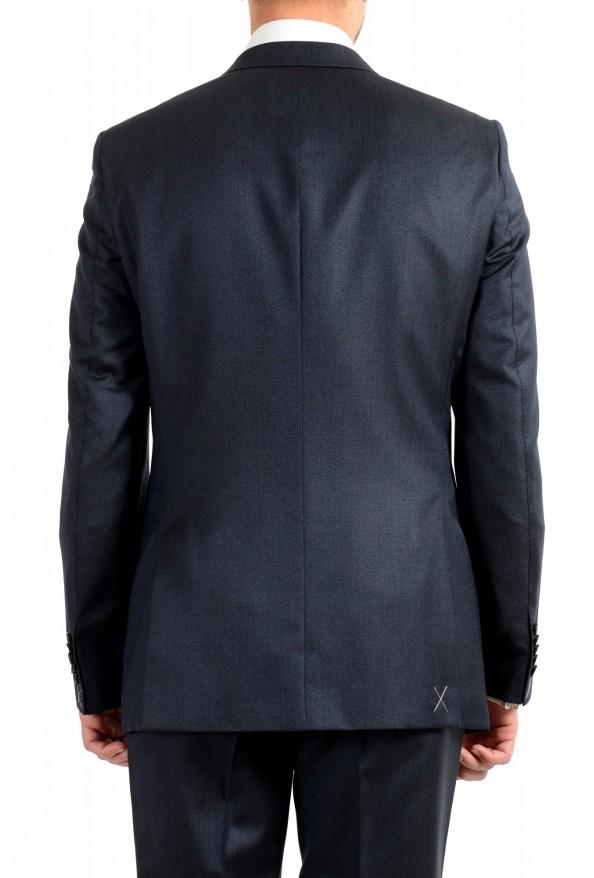 "Hugo Boss Men's ""T-Henders-Gorden"" Dark Blue Silk Wool Two Button Suit: Picture 6"