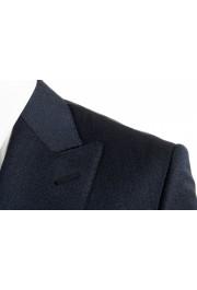 "Hugo Boss Men's ""T-Henders-Gorden"" Dark Blue Silk Wool Two Button Suit: Picture 7"