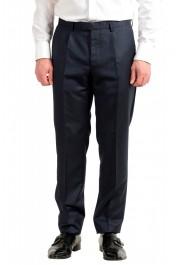 "Hugo Boss Men's ""T-Henders-Gorden"" Dark Blue Silk Wool Two Button Suit: Picture 8"