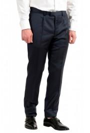 "Hugo Boss Men's ""T-Henders-Gorden"" Dark Blue Silk Wool Two Button Suit: Picture 9"