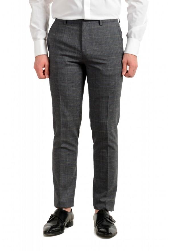 """Hugo Boss Men's """"Astian/Hets182V1"""" Extra Slim Fit 100% Wool Three Piece Suit: Picture 11"""