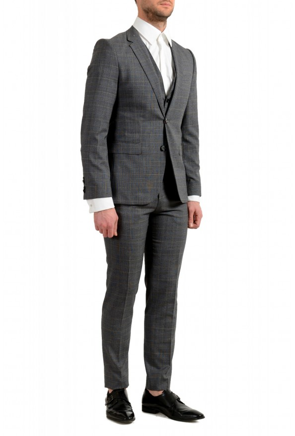 """Hugo Boss Men's """"Astian/Hets182V1"""" Extra Slim Fit 100% Wool Three Piece Suit: Picture 2"""