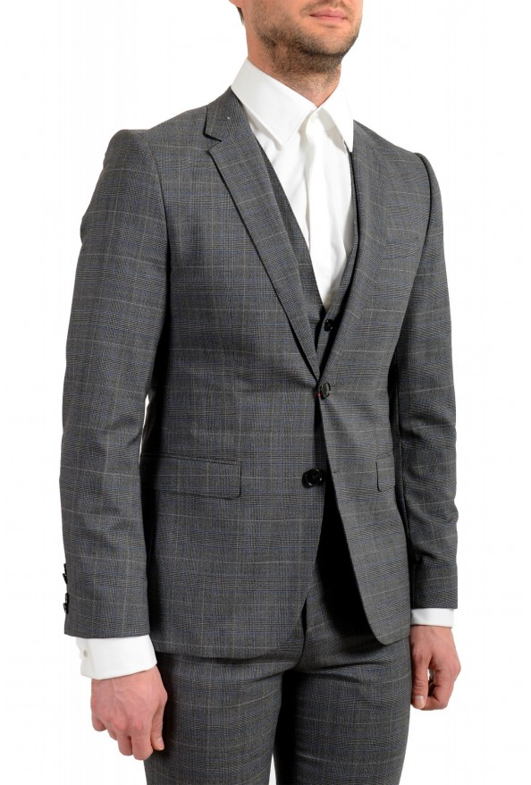 """Hugo Boss Men's """"Astian/Hets182V1"""" Extra Slim Fit 100% Wool Three Piece Suit: Picture 5"""