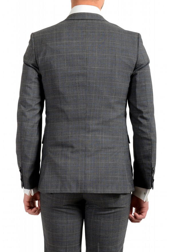 """Hugo Boss Men's """"Astian/Hets182V1"""" Extra Slim Fit 100% Wool Three Piece Suit: Picture 6"""