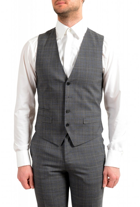 """Hugo Boss Men's """"Astian/Hets182V1"""" Extra Slim Fit 100% Wool Three Piece Suit: Picture 8"""