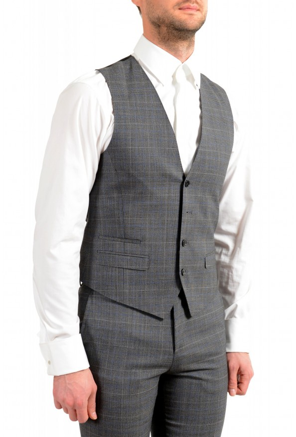 """Hugo Boss Men's """"Astian/Hets182V1"""" Extra Slim Fit 100% Wool Three Piece Suit: Picture 9"""