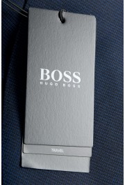 """Hugo Boss Men's """"Neight1/Byte1"""" Slim Fit Wool Blue Plaid Two Button Suit: Picture 11"""