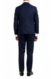 """Hugo Boss Men's """"Neight1/Byte1"""" Slim Fit Wool Blue Plaid Two Button Suit: Picture 3"""