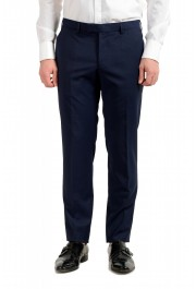 """Hugo Boss Men's """"Neight1/Byte1"""" Slim Fit Wool Blue Plaid Two Button Suit: Picture 8"""